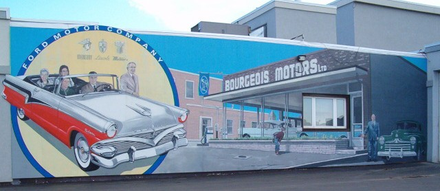 Bourgeois Motors Dealership through the Years