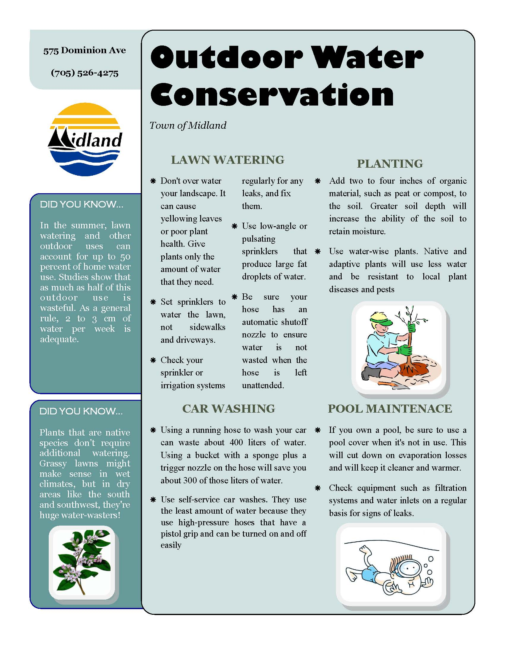 outdoor water conservation june 6