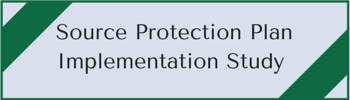 source protection plan. Implementation study