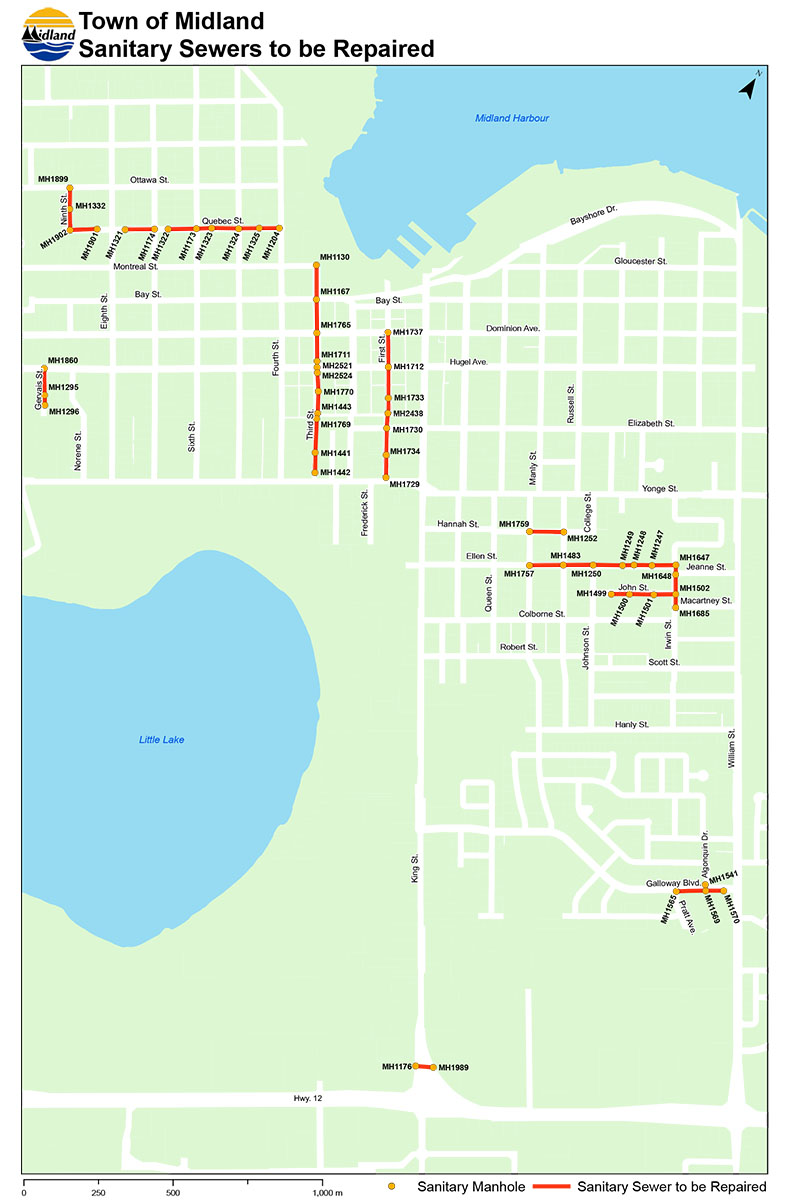444f91c541 While work is occuring, residents can expect a temporary shutdown of  sanitary services, which will typically affect them for four hour intervals.