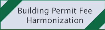 Building permit fee harmonization