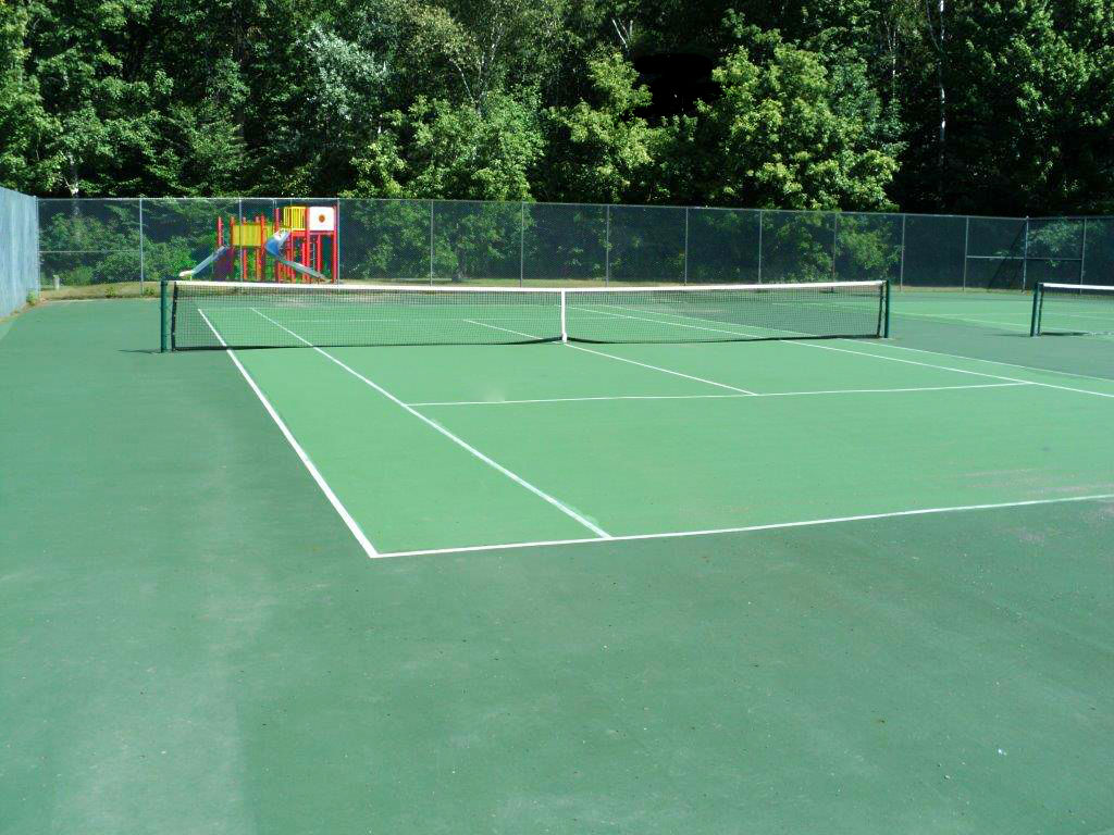 Tiffin Tennis Court surface